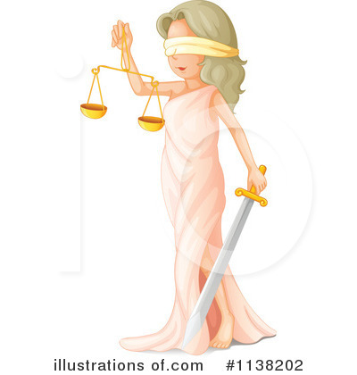 Justice Clipart #1138202 by Graphics RF