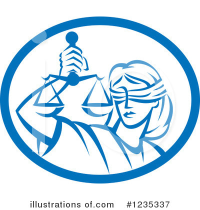 Justice Clipart #1235337 by patrimonio