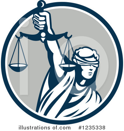 Justice Clipart #1235338 by patrimonio