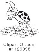 Royalty-Free (RF) Ladybug Clipart Illustration #1129098