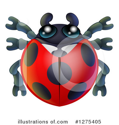 Ladybug Clipart #1275405 by AtStockIllustration