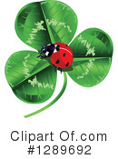 Royalty-Free (RF) Ladybug Clipart Illustration #1289692