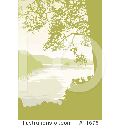 Royalty-Free (RF) Lake Clipart Illustration by Geo Images - Stock Sample #11675