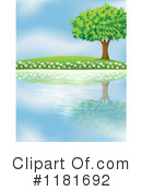 Royalty-Free (RF) Lake Clipart Illustration #1181692