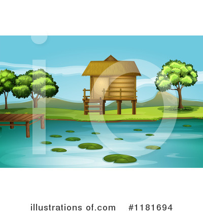 Cabin Clipart #1181694 by Graphics RF