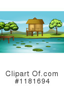 Royalty-Free (RF) Lake Clipart Illustration #1181694