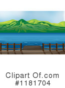 Royalty-Free (RF) Lake Clipart Illustration #1181704