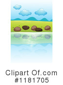 Royalty-Free (RF) Lake Clipart Illustration #1181705