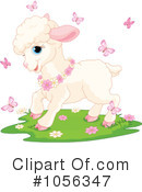 Royalty-Free (RF) Lamb Clipart Illustration #1056347