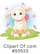 Royalty-Free (RF) Lamb Clipart Illustration #93533