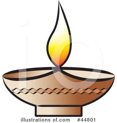 Royalty Free (RF) Lamp Clipart Illustration #44801 By Lal Perera