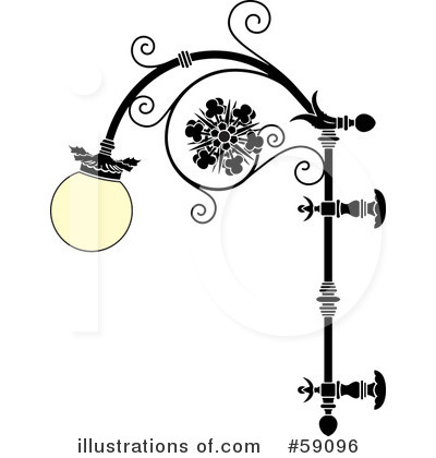 White table lamp - Lamp Clip Art Royalty Free Rf Lamp Clipart