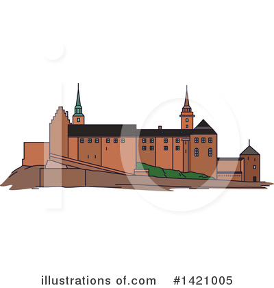 Fortress Clipart #1421005 by Vector Tradition SM
