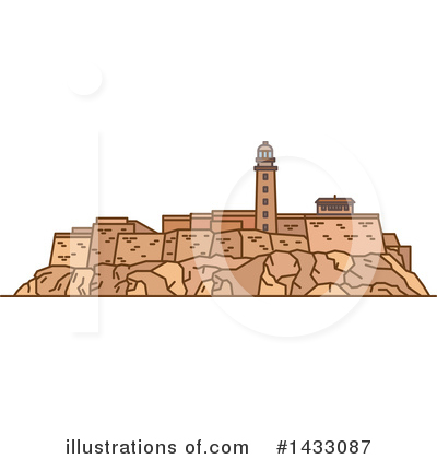 Fortress Clipart #1433087 by Vector Tradition SM