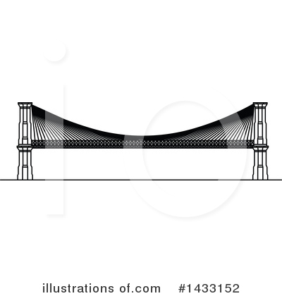 Bridge Clipart #1433152 by Vector Tradition SM