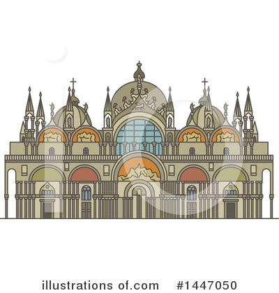 Royalty-Free (RF) Landmark Clipart Illustration by Vector Tradition SM - Stock Sample #1447050