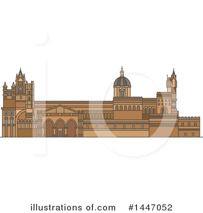 Landmark Clipart #1447052 by Vector Tradition SM
