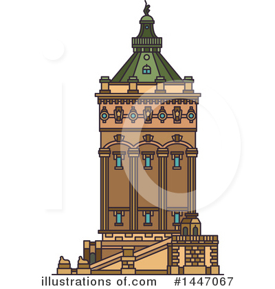 Landmark Clipart #1447067 by Vector Tradition SM