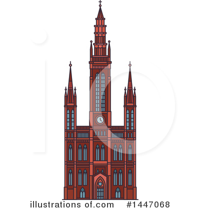 Landmark Clipart #1447068 by Vector Tradition SM