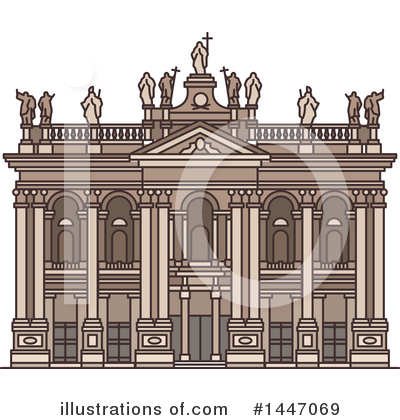 Landmark Clipart #1447069 by Vector Tradition SM