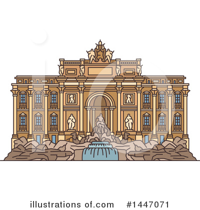Landmark Clipart #1447071 by Vector Tradition SM