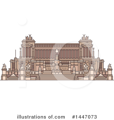 Landmark Clipart #1447073 by Vector Tradition SM