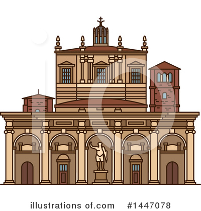 Landmark Clipart #1447078 by Vector Tradition SM