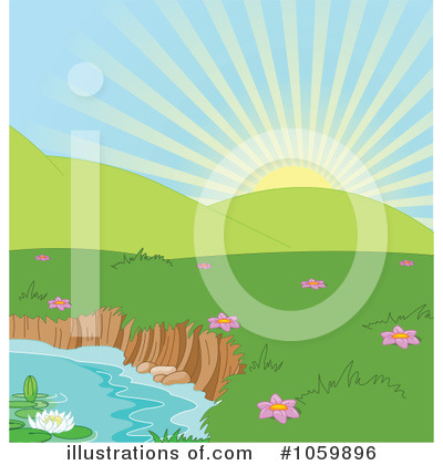 Pond Clipart #1059896 by Pushkin
