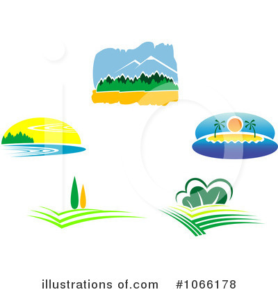 Island Clipart #1066178 by Vector Tradition SM