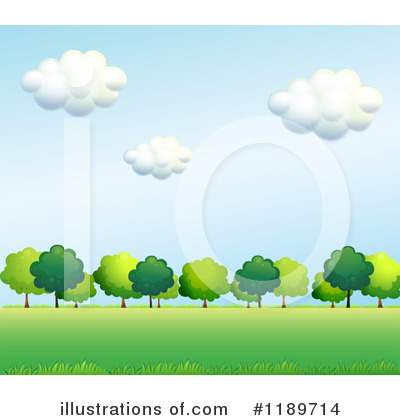 Tree Clipart #1189714 by Graphics RF