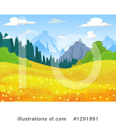 Landscape Clipart #1291861 by BNP Design Studio