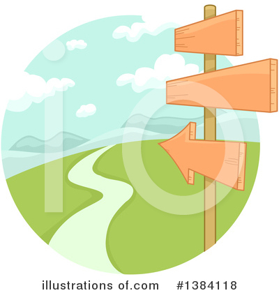 Landscape Clipart #1384118 by BNP Design Studio