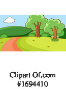 Landscape Clipart #1694410 by Graphics RF