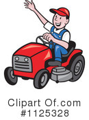 Royalty-Free (RF) landscaper Clipart Illustration #1125328