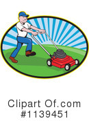 Royalty-Free (RF) landscaper Clipart Illustration #1139451