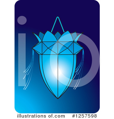 Royalty-Free (RF) Lantern Clipart Illustration by Lal Perera - Stock Sample #1257598
