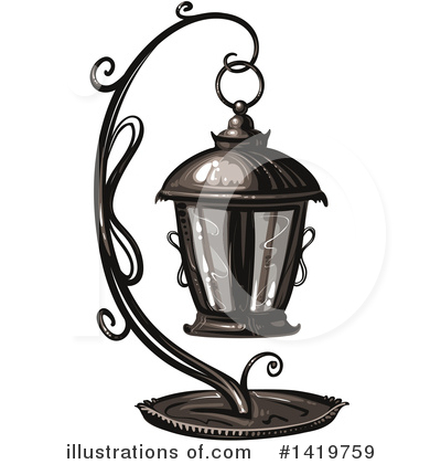 Lantern Clipart #1419759 by merlinul