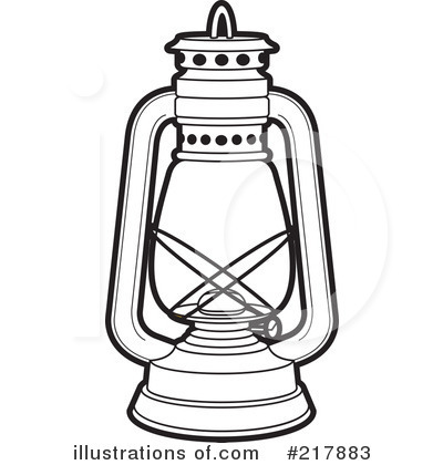 lamp clipart black and white - photo #33