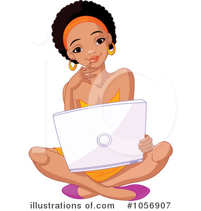 Laptop Clipart #1056907 by Pushkin