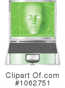 Royalty-Free (RF) Laptop Clipart Illustration #1062751