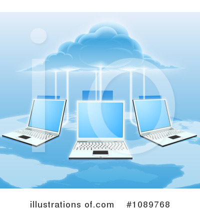 Laptop Clipart #1089768 by AtStockIllustration