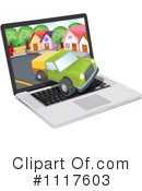 Laptop Clipart #1117603 by Graphics RF