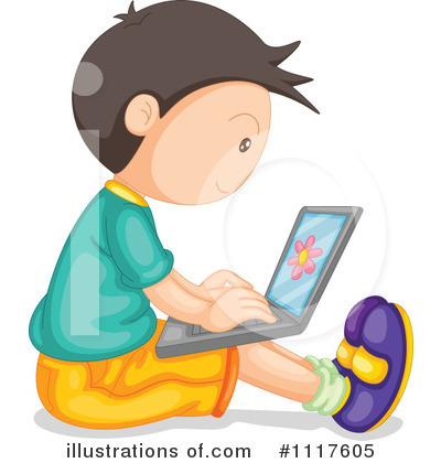 Laptop Clipart #1117605 by Graphics RF