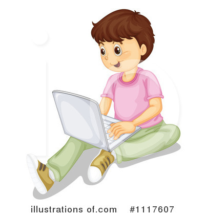 Computer Clipart #1117607 by Graphics RF