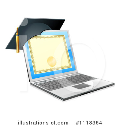 Laptop Clipart #1118364 by AtStockIllustration