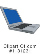 Royalty-Free (RF) Laptop Clipart Illustration #1131231