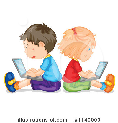 Computer Clipart #1140000 by Graphics RF