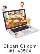 Laptop Clipart #1140504 by Graphics RF