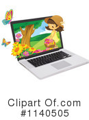 Laptop Clipart #1140505 by Graphics RF