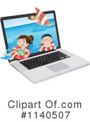 Laptop Clipart #1140507 by Graphics RF